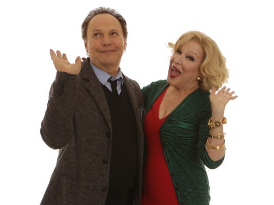 Bette Milder and Billy Crystal