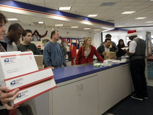 post office holiday