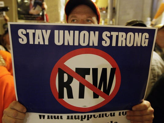 right to work ohio 121212