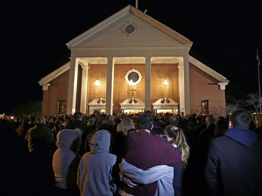 Connecticut shooting vigil