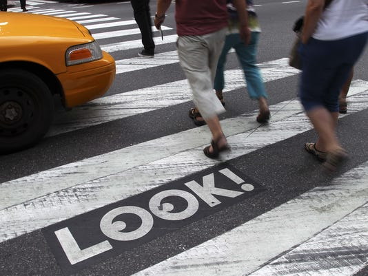 your say 1217 pedestrians