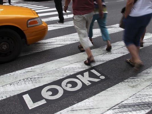 your say 1217 pedestrians
