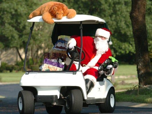 2012-12-18 santa golf