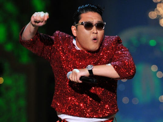 psy breaks records
