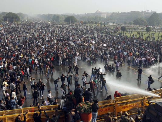 Indian protest rape