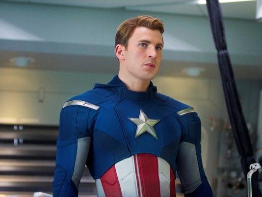 """""""Marvel's The Avengers"""" Steve Rogers/Captain America (Chris Evans)Ph: Zade Rosenthal  © 2011 MVLFFLLC.  TM & © 2011 Marvel.  All Rights Reserved."""