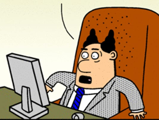 Dilbert's Pointy-Haired Boss