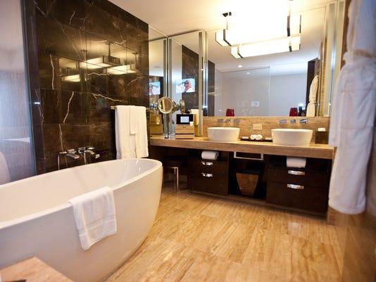 Best Hotel Bathrooms best hotel bathrooms in las vegas
