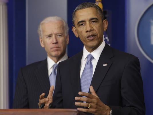 Obama Biden Fiscal Cliff