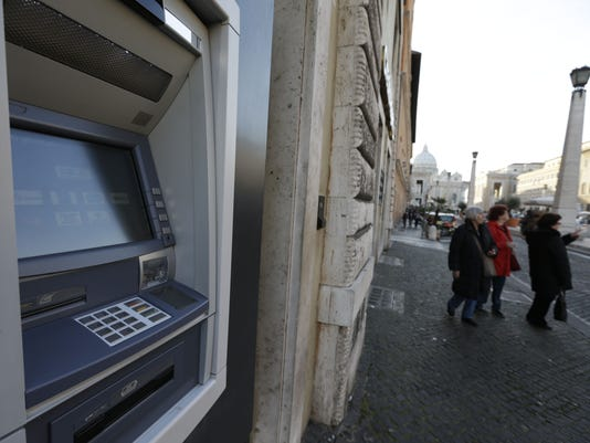 Vatican electronic payments