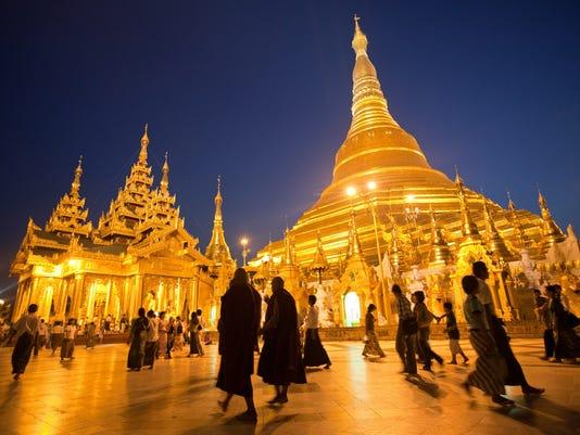 Burma tourism