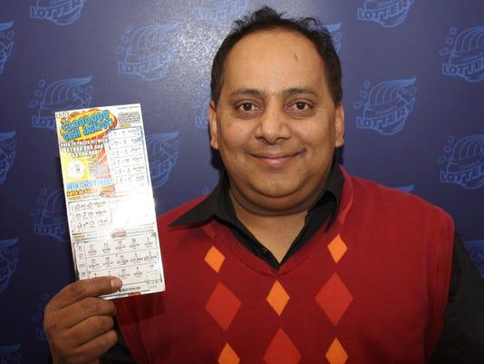 Illinois lottery winner