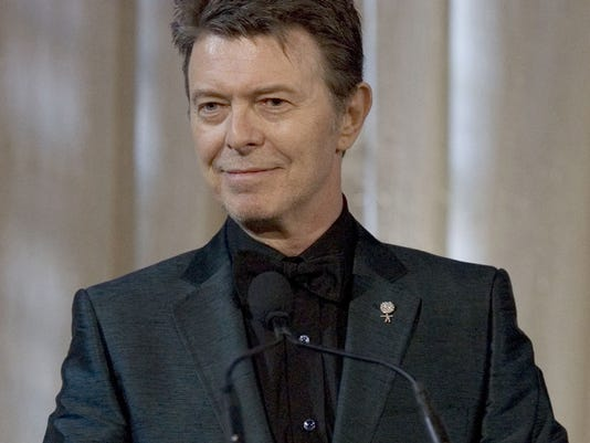 *David Bowie