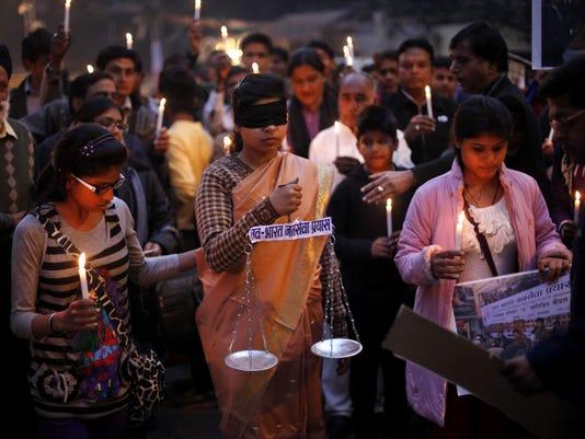 new delhi vigil