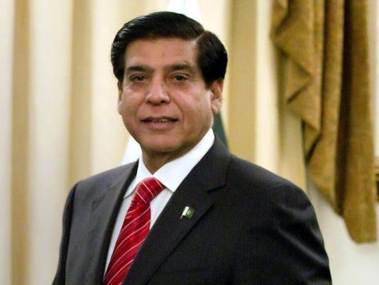 Pakistan's Prime Ministe