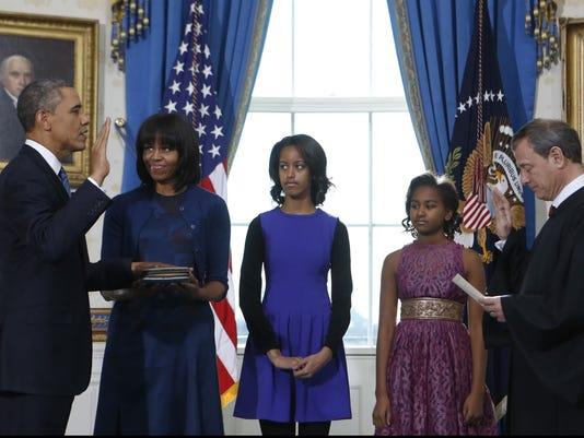 Obama outfits Sunday