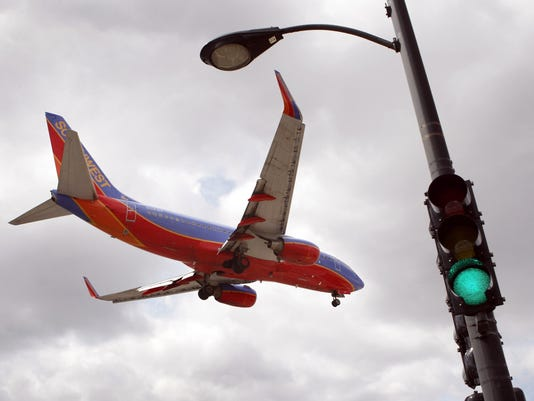 southwest midway chicago traffic light 2011