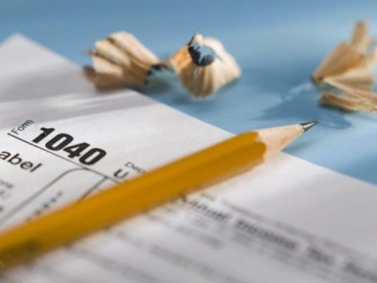tax taxes form pencil thinkstock