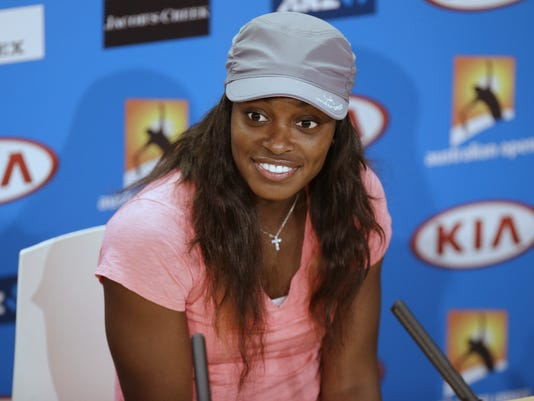 2013-1-24 sloane stephens from presser