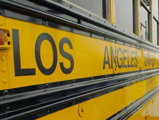 la school bus