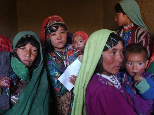 afghanistan women 2002