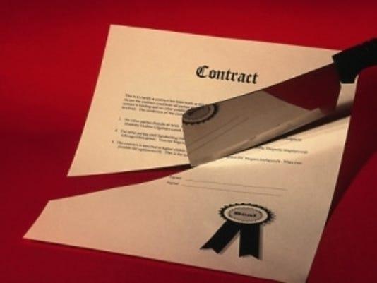 contract broken