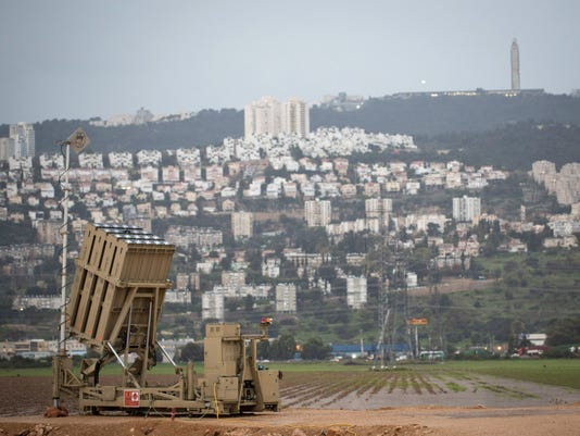 israel iron dome