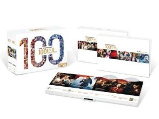 Warner Bros. 100 film DVD set