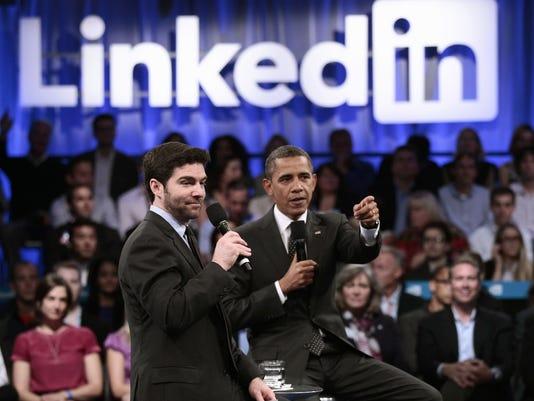linkedin obama 2011