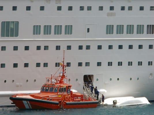Cruise death Spain
