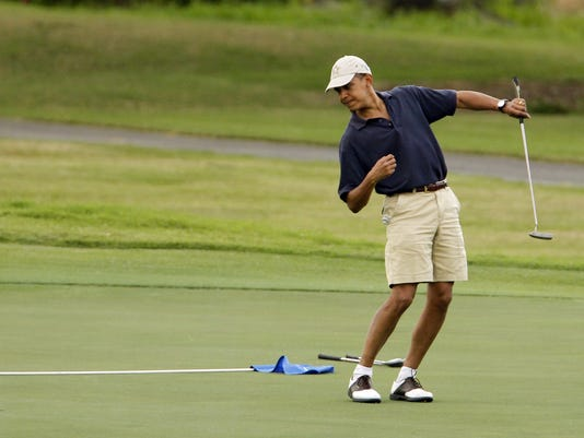 2013-2-19 president obama golf file
