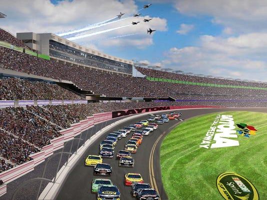 Daytona renovation proposal