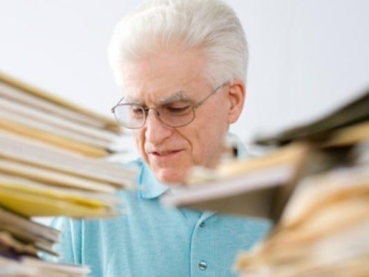 retiree senior working thinkstock
