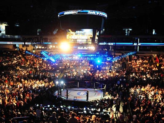 2013-02-25 UFC arena