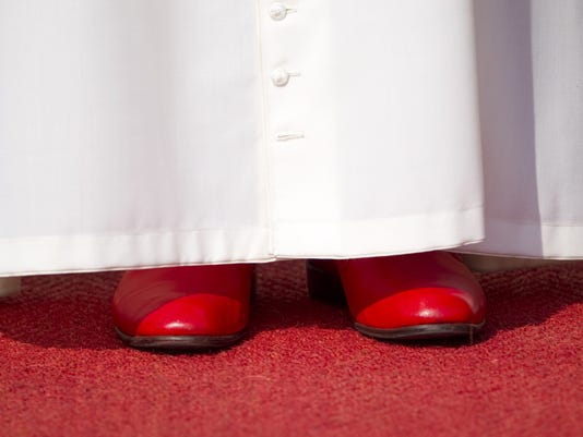 pope shoes