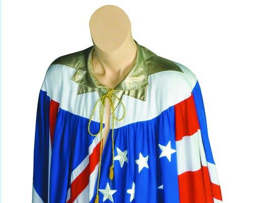 Mick Jagger's cape