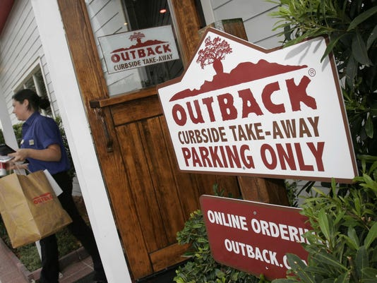 outback steakhouse take out 2007