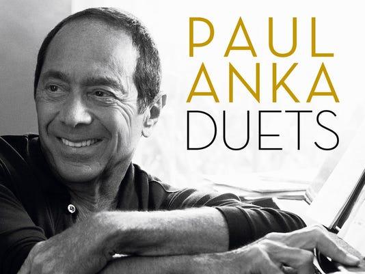 Paul Anka Duets cover