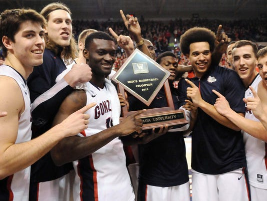Gonzaga earns first-ever No. 1 ranking, but spotlight ...