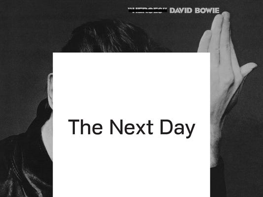 David Bowie 'The Next Day' cover