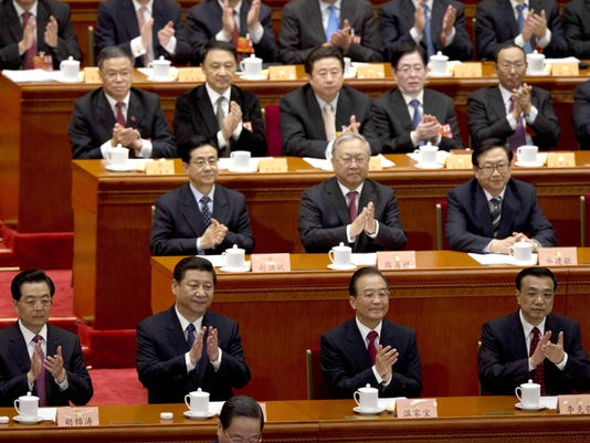 China's top leaders