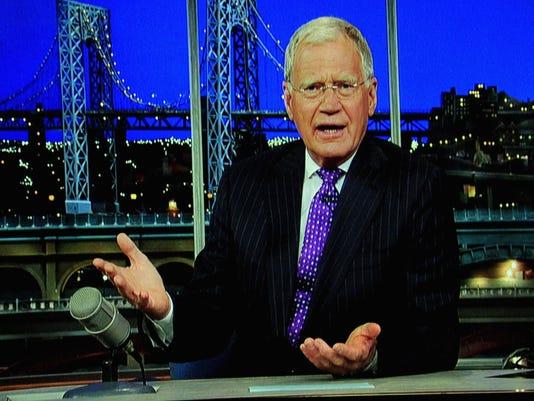 David Letterman on Pope