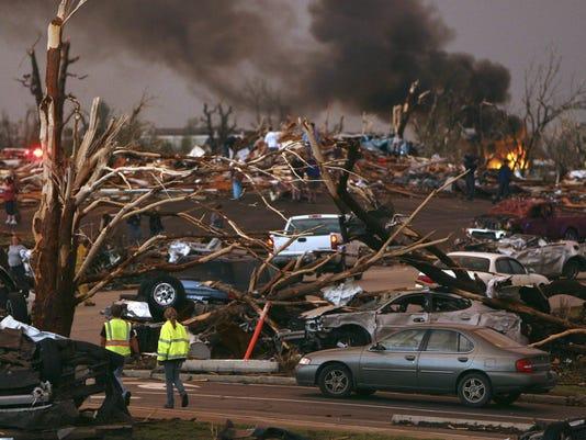 tornado-global warming