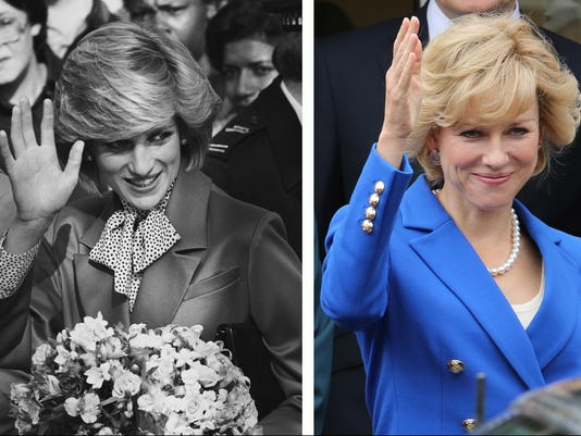 Princess Diana and Naomi Watts as Diana