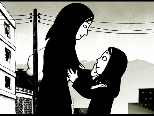 a comparison of the book and the movie persepolis The most common form of a movie-adaptation is the use of a novel, such as the   in comparison, her work is very similar to margaret atwood's, a handmaid's.