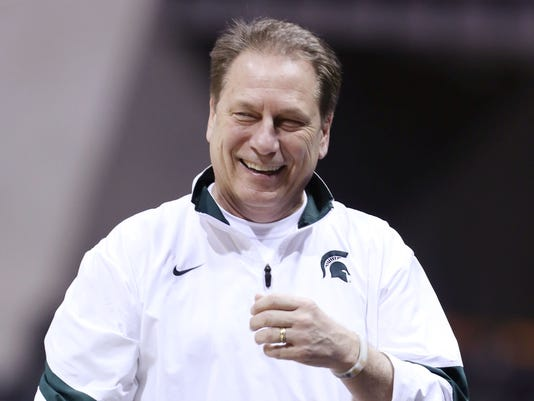 03 29 2013 laughing tom izzo
