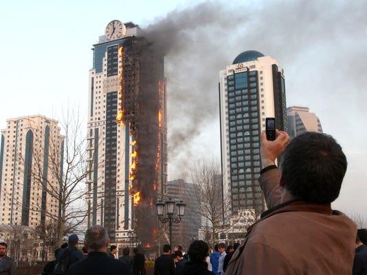 Chechnya high-rise