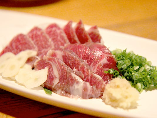 horse meat sushi DO NOT OVERWRITE