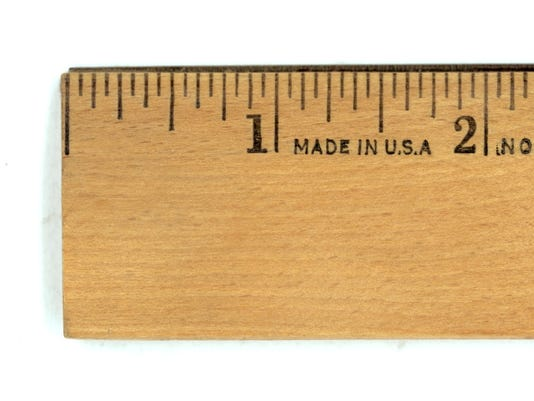 12 Inch Ruler Actual Size Ruler. size does matter