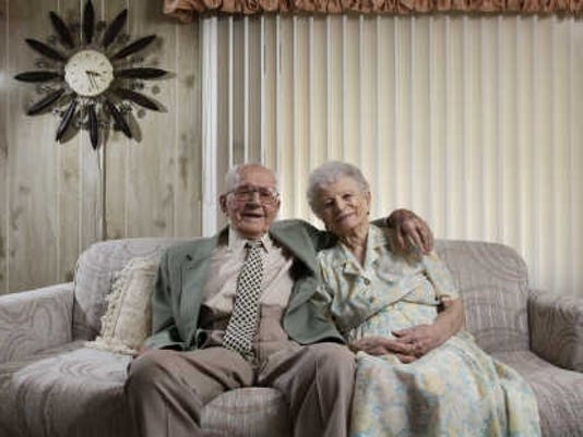 couple married 83 years